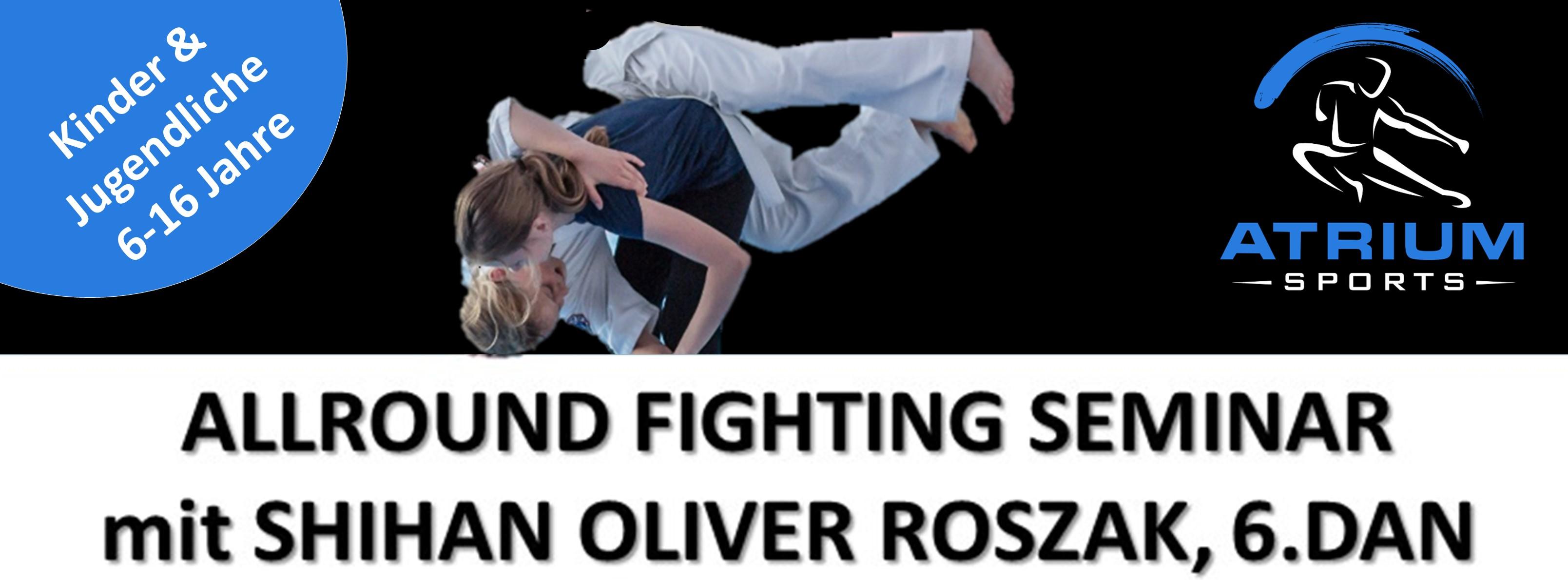 Seminar Allround Fighting Kids 2017