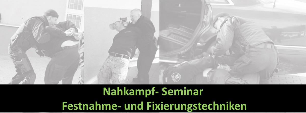 Festnahmetechniken- Seminar 2018