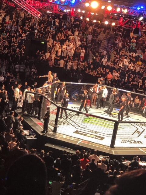Atrium-Sports-UFC-Hamburg-2018-Octagon