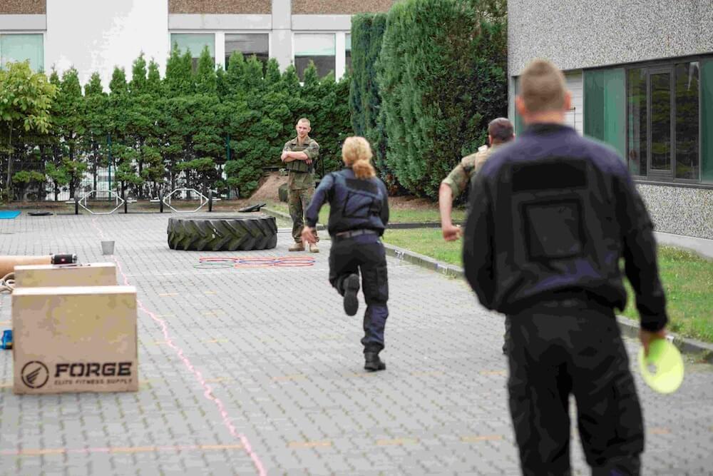 Atrium sports Kampfsport Hamburg polizei wettkampf